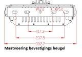 maatvoering bevestigings beugel LED max sport