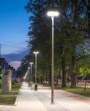 ROSA Corona 72W ON-TOP LED straatverlichting en parkeerplaats verlichting lichtmast