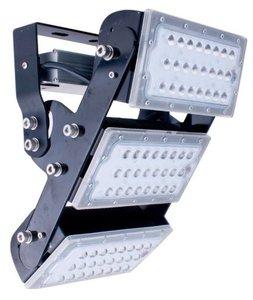 125W LED multihoek schijnwerper