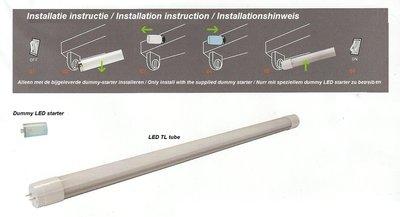 Muller led tube cm watt neutral white plug play led lampen