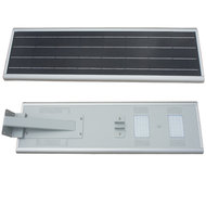 30W led lantaarnpaal met accu en zonnepaneel