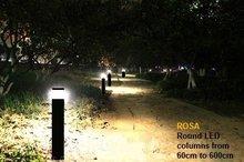ROSA SAM 900 ronde bolder paal met LED verlichting voor park  parkeerplaats tuin en fietspad