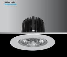 COMO-R XS LED SPOTJE downlight 10 watt 520 Lumen dimbaar en zwenkbaar philips / Müller Licht