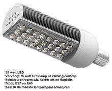 24 watt LED lantaarnpaal lamp