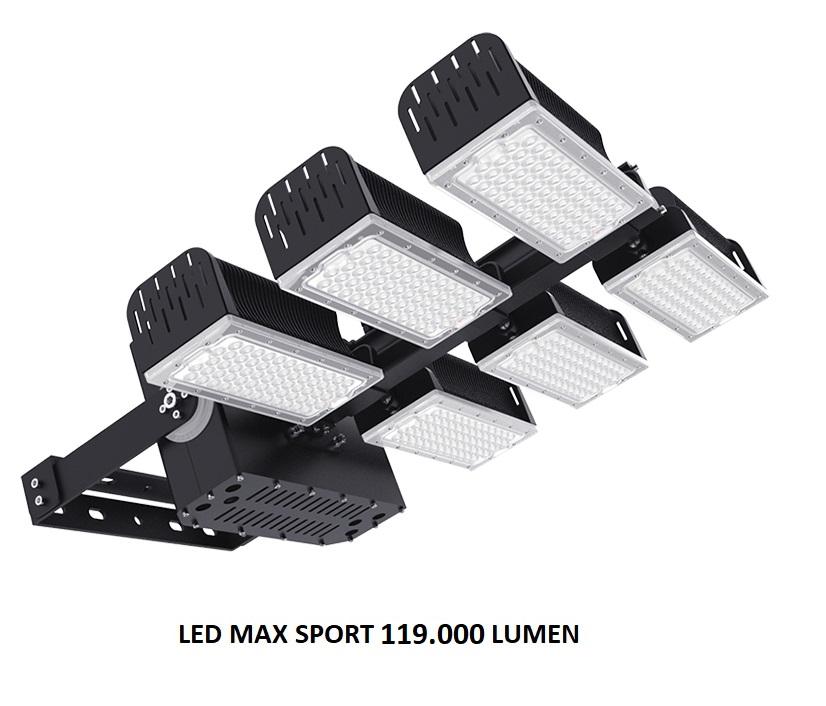 Afbeelding van LED sportveld en terrein schijnwerper verlichting LED MAX-SPORT 119.000 Lumen